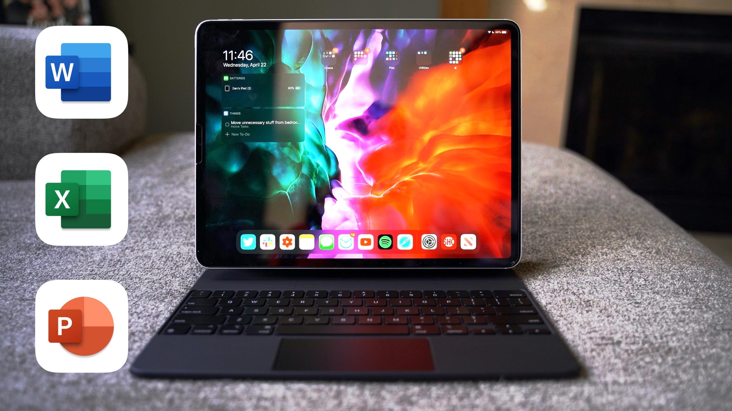 Microsoft Office с поддержкой трекпада на iPad появится в конце 2020 года
