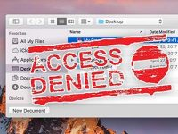 Почему приложения на Mac не могут переименовывать и удалять файлы