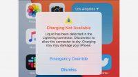 iPhone с iOS 14 можно заряжать даже при срабатывании датчика попадания воды в порт lightning