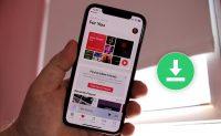 Как скачать всю свою медиатеку Apple Music на iPhone