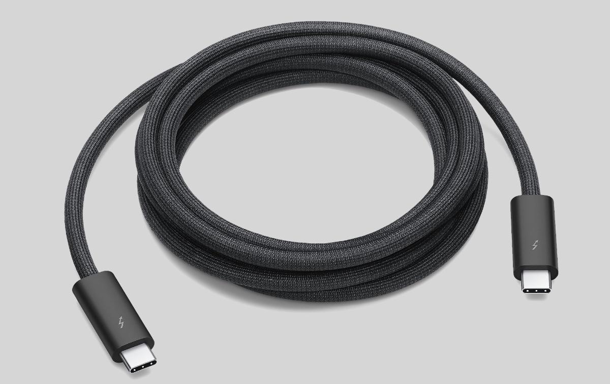 Apple начала продавать двухметровый кабель Thunderbolt 3 Pro. Цена впечатляет
