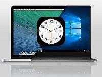 Почему на Mac время в ОС Windows отличается от времени macOS