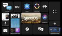 Появился необычный концепт glassOS с фишками из iOS 14