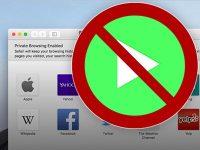 Как отключить автовоспроизведение видео на сайтах в Safari на Mac
