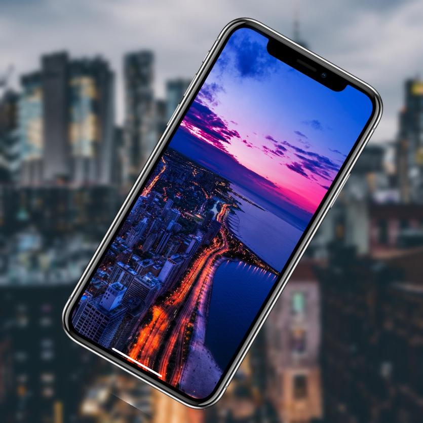 10 эффектных обоев iPhone. Панорамы города и ночные огни