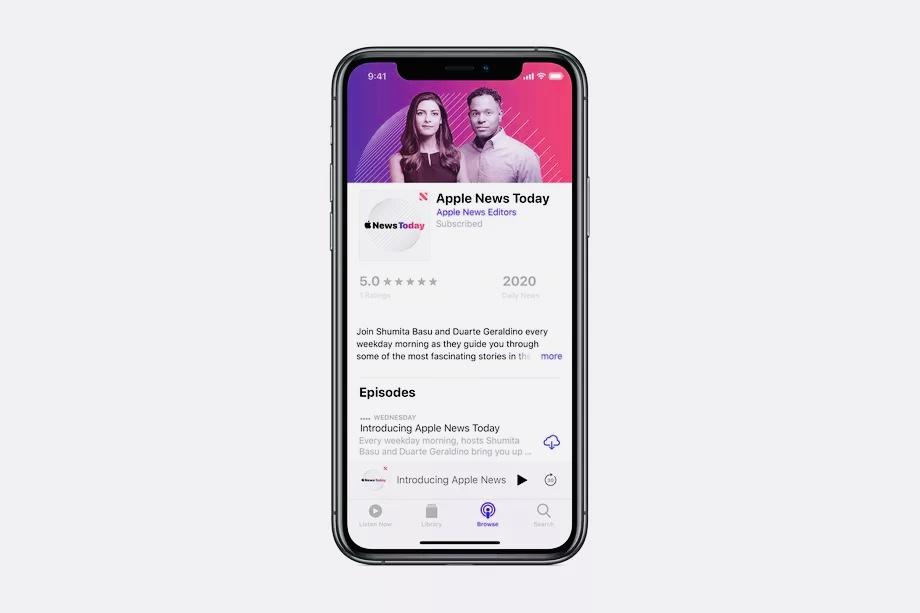Apple запустила свой первый подкаст в истории. Но не в России