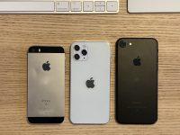 Сравните самый маленький iPhone 12 с остальными айфонами
