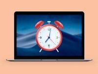 Как установить будильник на Mac
