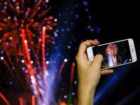 Как фотографировать салют со шлейфом на iPhone
