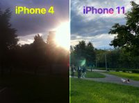 Включил старый iPhone 4 и сравнил камеру с iPhone 11. Разница поразила