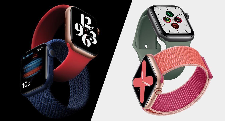 Чем отличаются Apple Watch Series 6 от Series 5
