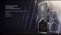 NVIDIA представила топовую видеокарту GeForce RTX 3090