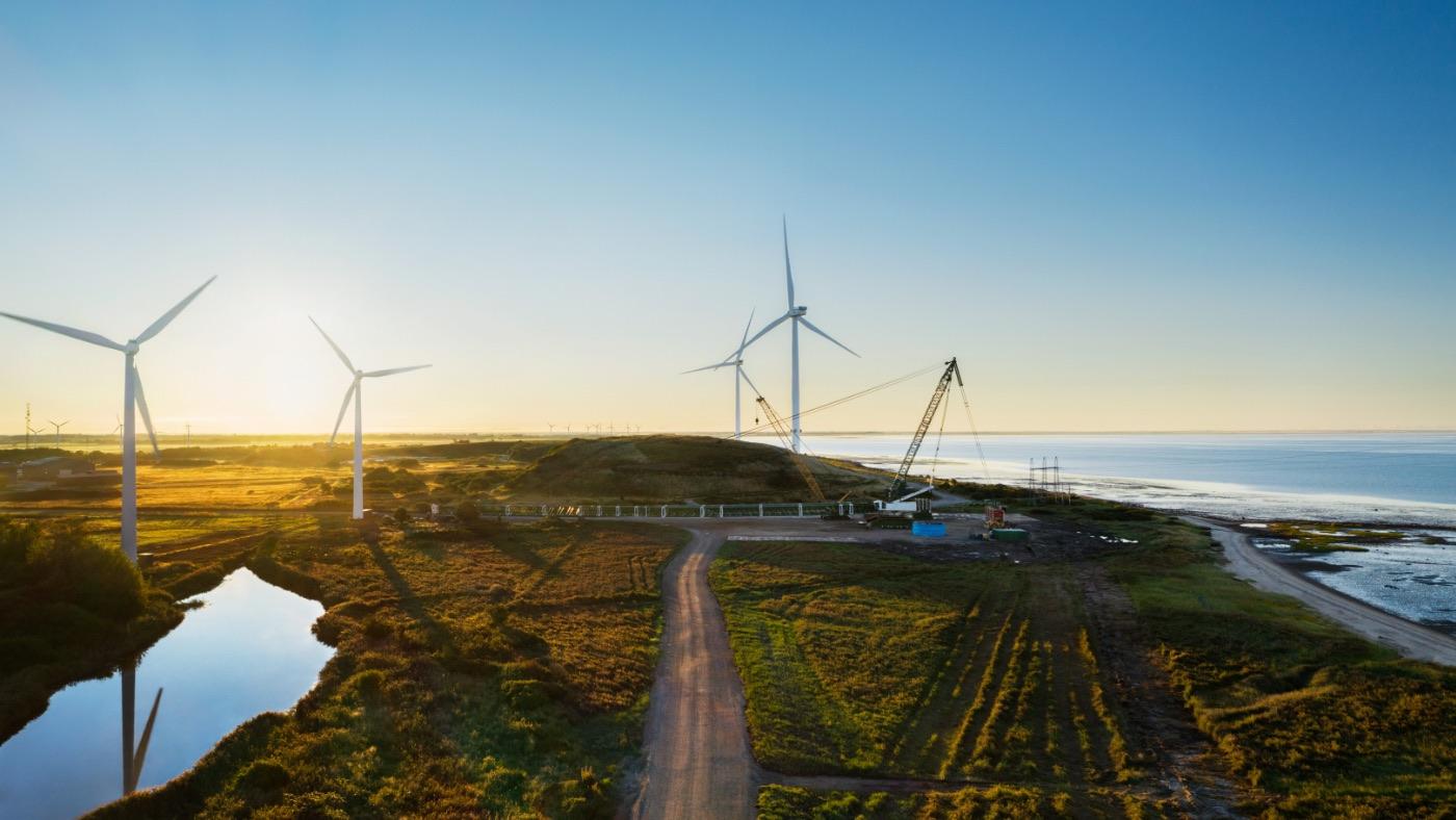 Apple поможет построить гигантские ветряные электростанции в Дании