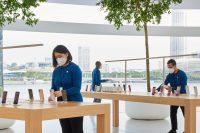 Apple разработала защитную уникальную маску для своих сотрудников