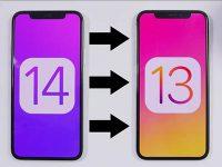 Можно ли попробовать iOS 14, а затем сделать даунгрейд на старую iOS