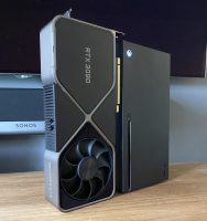 Топовую видеокарту NVIDIA RTX 3090 сравнили с огромной Xbox Series X. Консоль проиграла