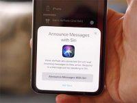 Почему Siri не зачитывает входящие сообщения iMessage в наушниках