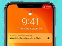 Почему не включается оптимизированная зарядка на iPhone
