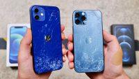 Появились первые дроптесты iPhone 12 и 12 Pro