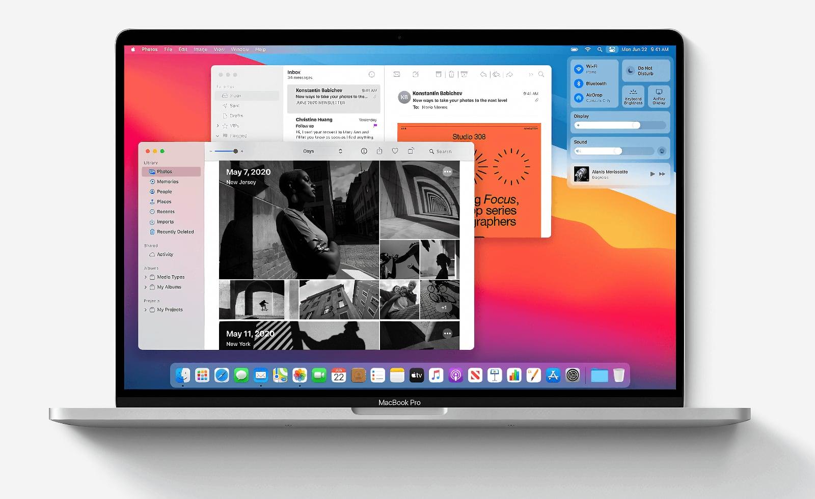 macOS Big Sur выйдет 12 ноября
