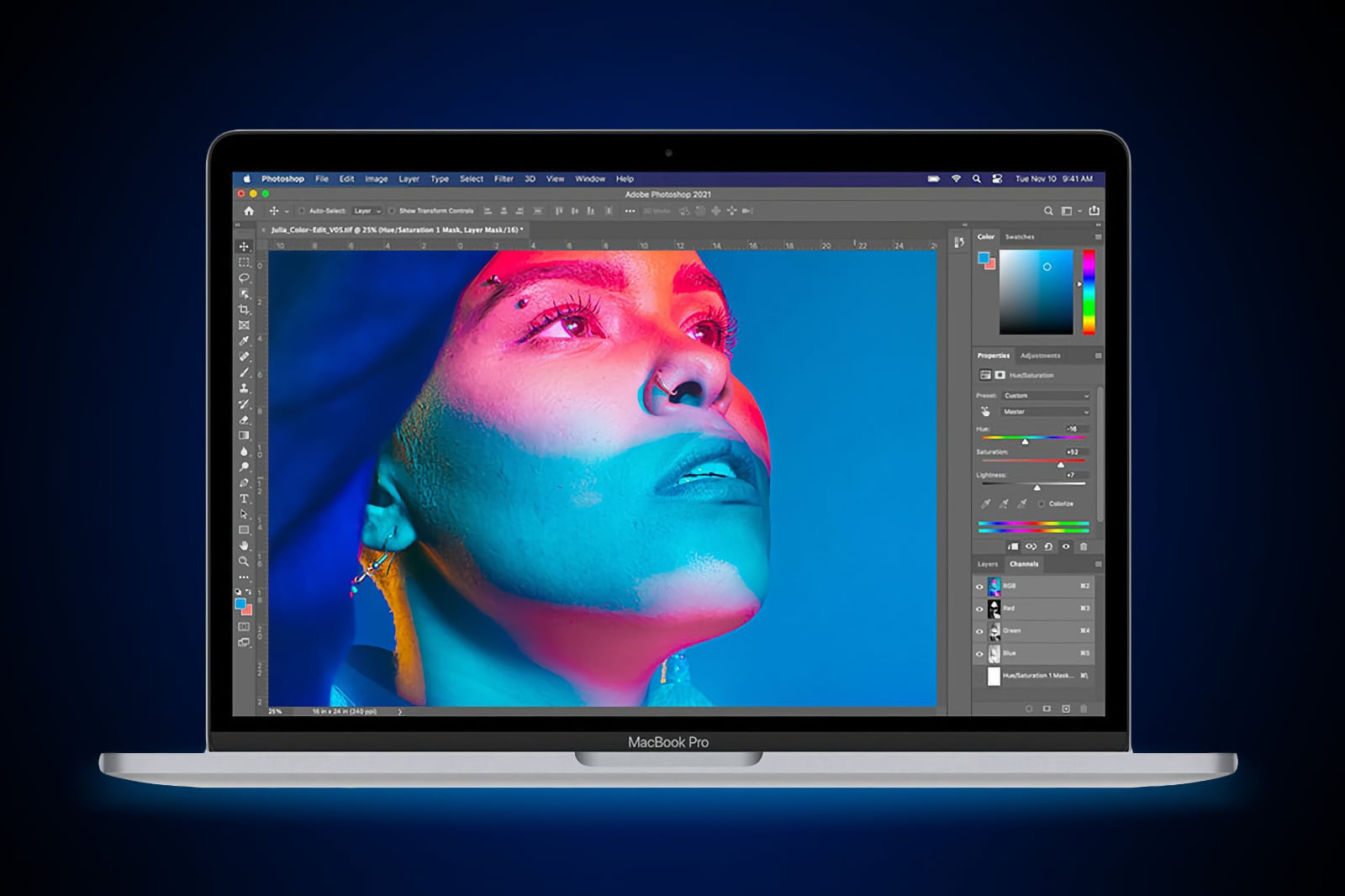 Для Mac с процессором M1 вышли Photoshop, DaVinchi Resolve и Octane X