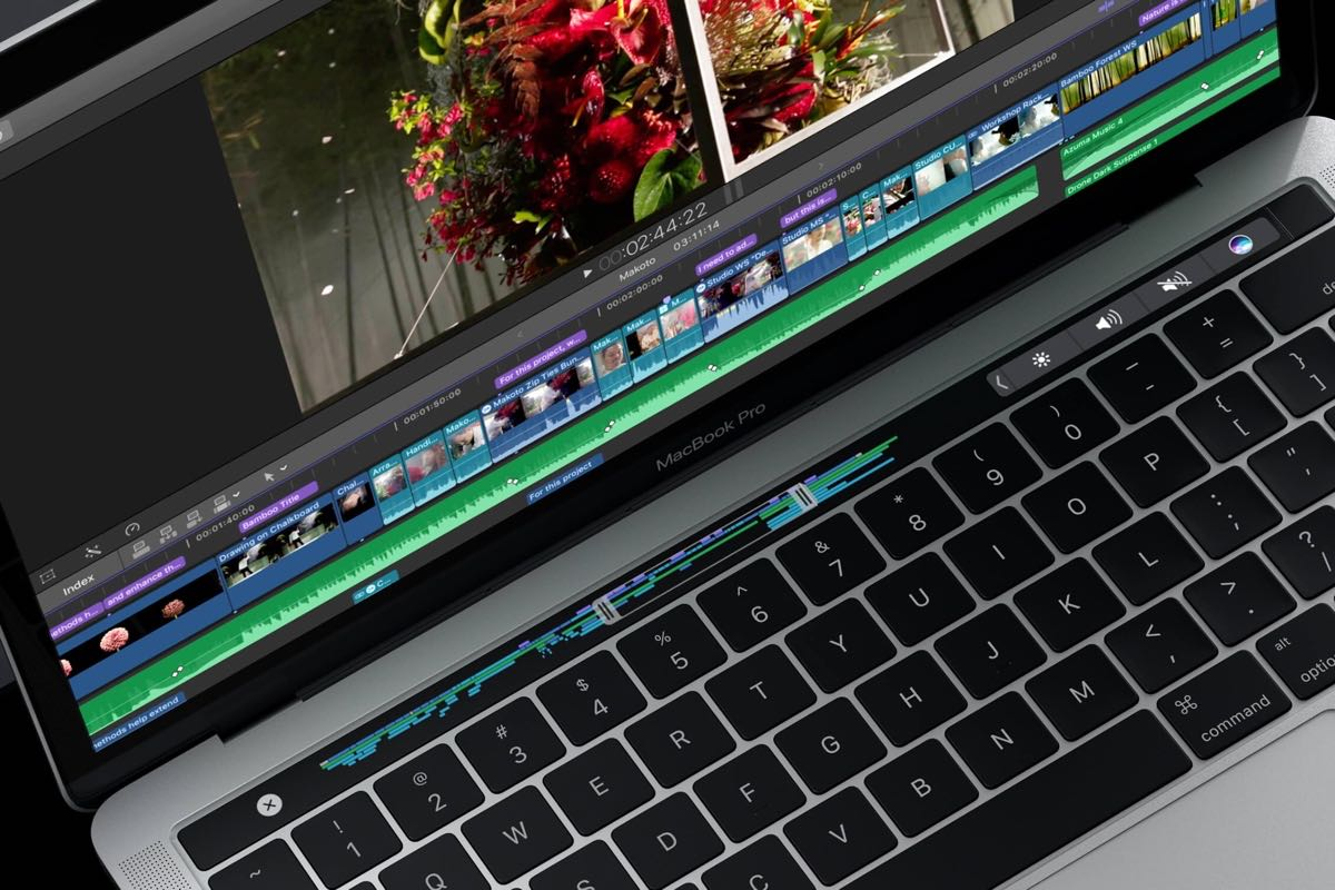 Apple запатентовала Touch Bar с Force Touch