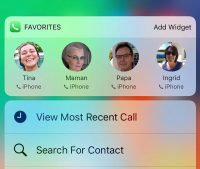 Как сделать крутой виджет избранных контактов для iPhone с iOS 14