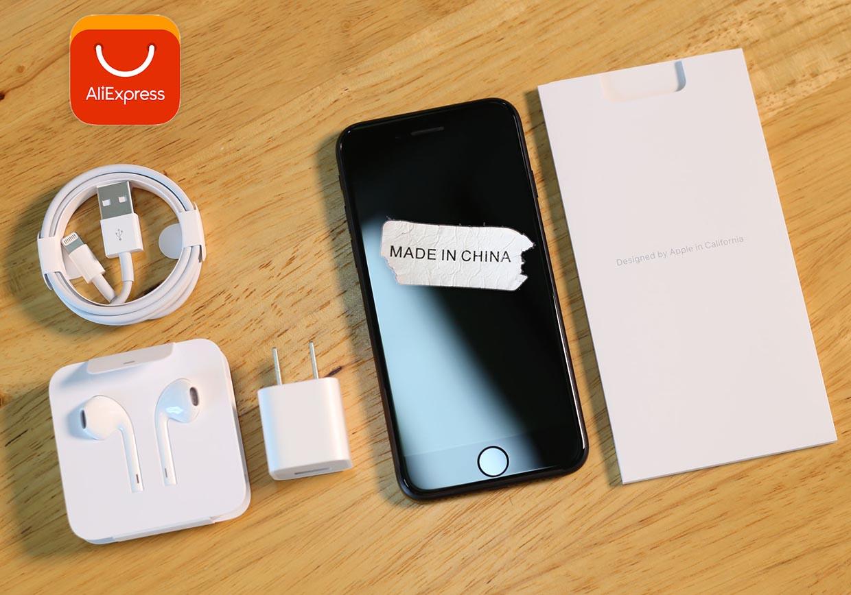 Знакомый купил iPhone 7 за 10 тысяч на AliExpress. Что это такое приехало?