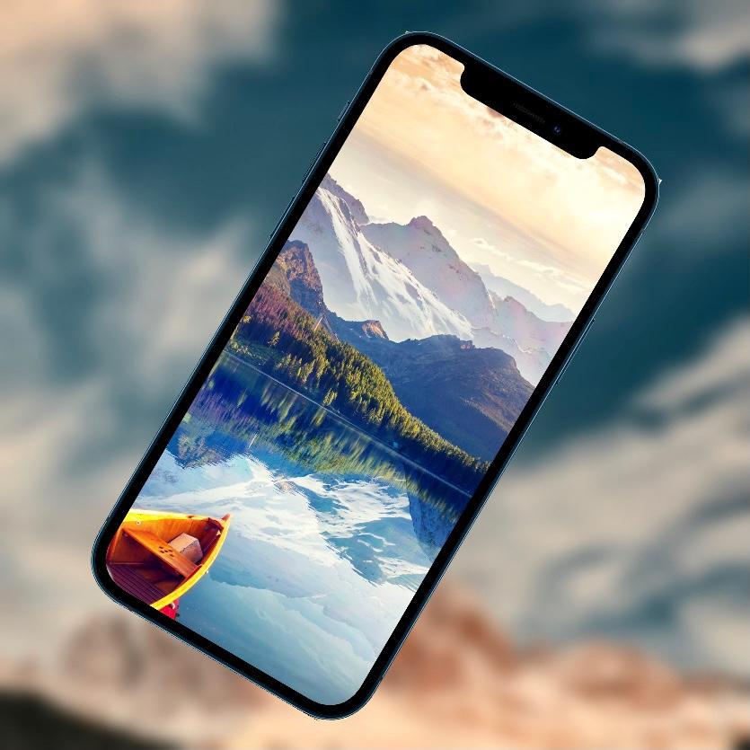 10 ярких обоев iPhone с горами и лесами