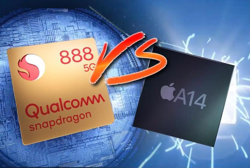 Процессор Snapdragon 888 ещё не вышел, а Apple A14 уже обогнал его по производительности