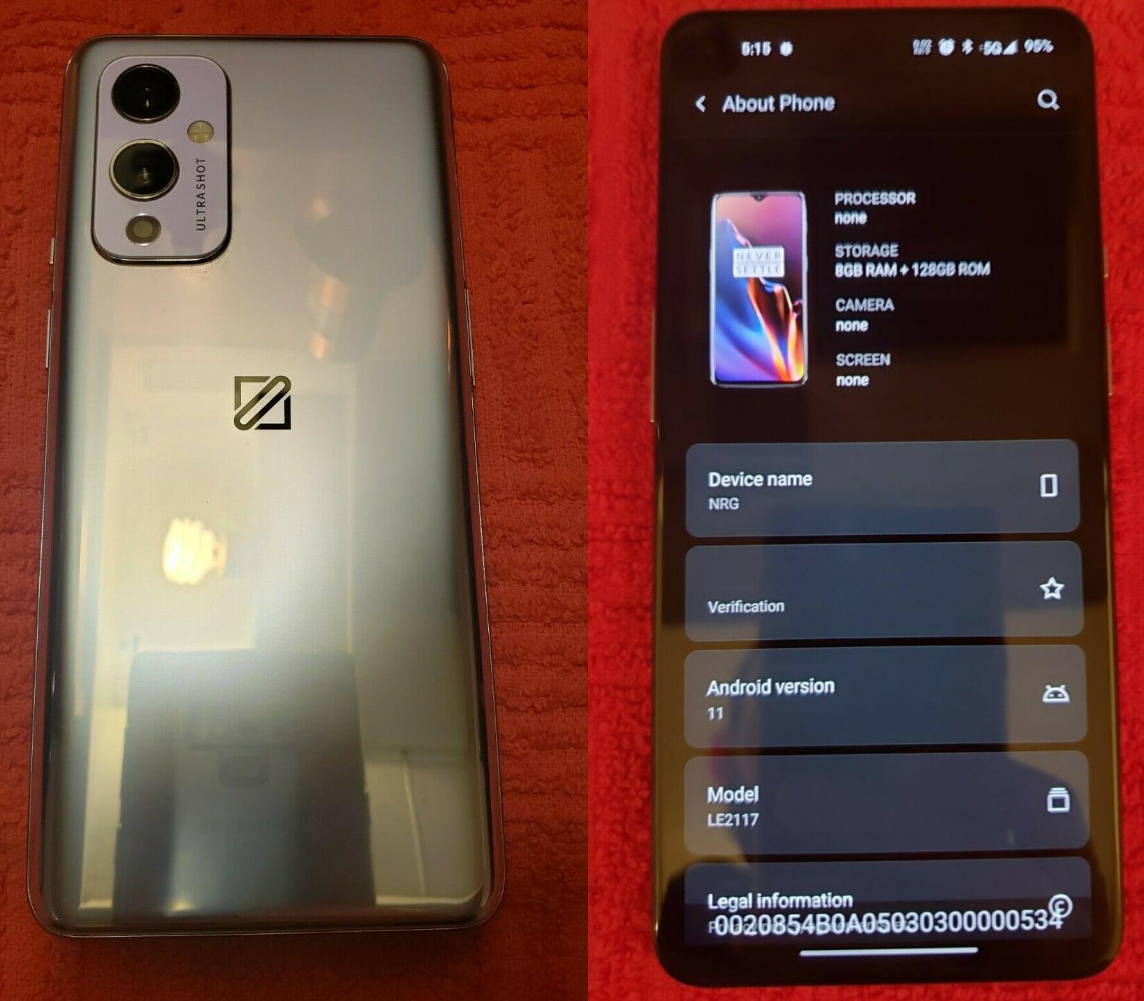 Прототип OnePlus 9 продали на eBay за $6000