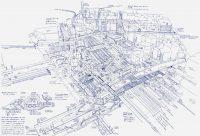Чертежи этого архитектора похожи на МРТ самой удивительной инфраструктуры на Земле