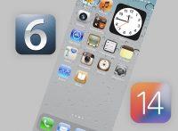 Как превратить домашний экран iOS 14 в iOS 6. Ностальгия!