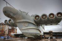 Самолёты-корабли из СССР могли летать почти по воде. Но планы рухнули, а техника ржавеет