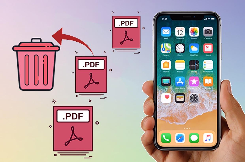 Как на iPhone удалить любую страницу из PDF документа