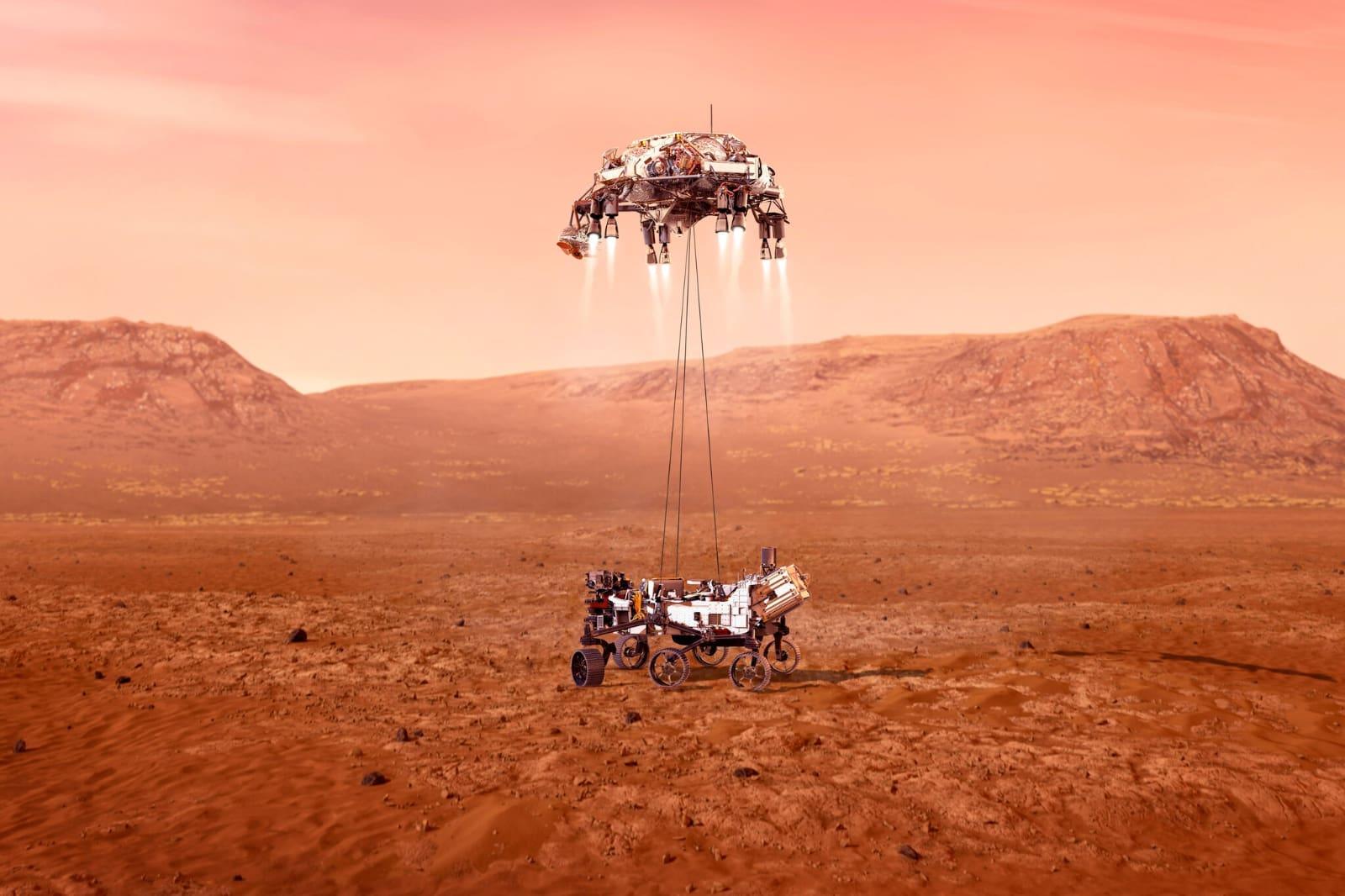Где смотреть приземление марсохода Персеверанс на Марс. Уже сегодня!