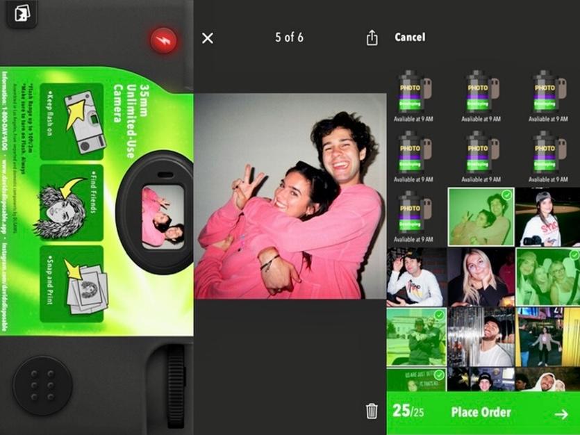 Новая соцсеть Dispo с публикацией плёночных фото взлетела в ТОП-4 приложений мира. Разбираемся с ней