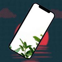 10 минималистичных обоев iPhone. Поставил себе №7