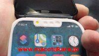 Появилось первое фото макета iPhone 13 Pro: меньше вырез, фронтальную камеру перенесли