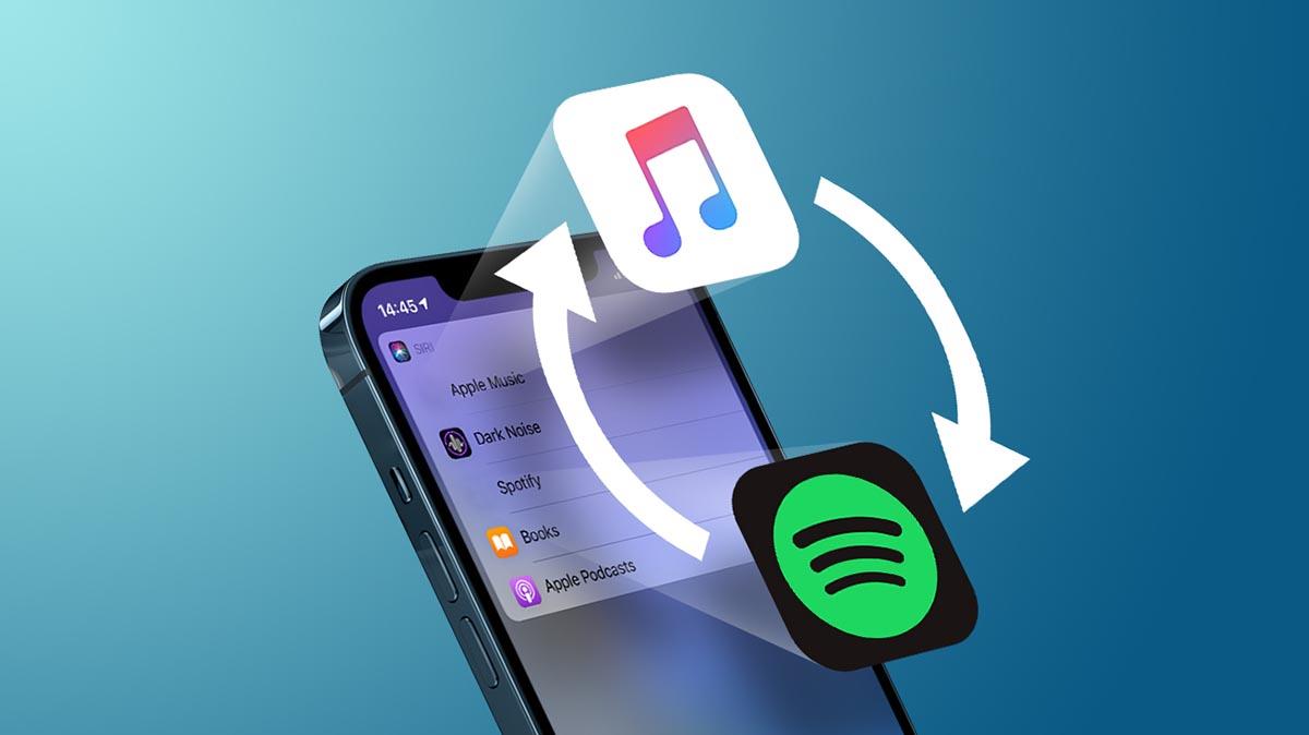 Как на iPhone изменить музыкальный плеер по умолчанию