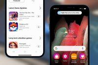 Samsung запустила приложение iTest, которое превращает iPhone в смартфон Galaxy
