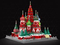 Вещь. Московский кремль из LEGO