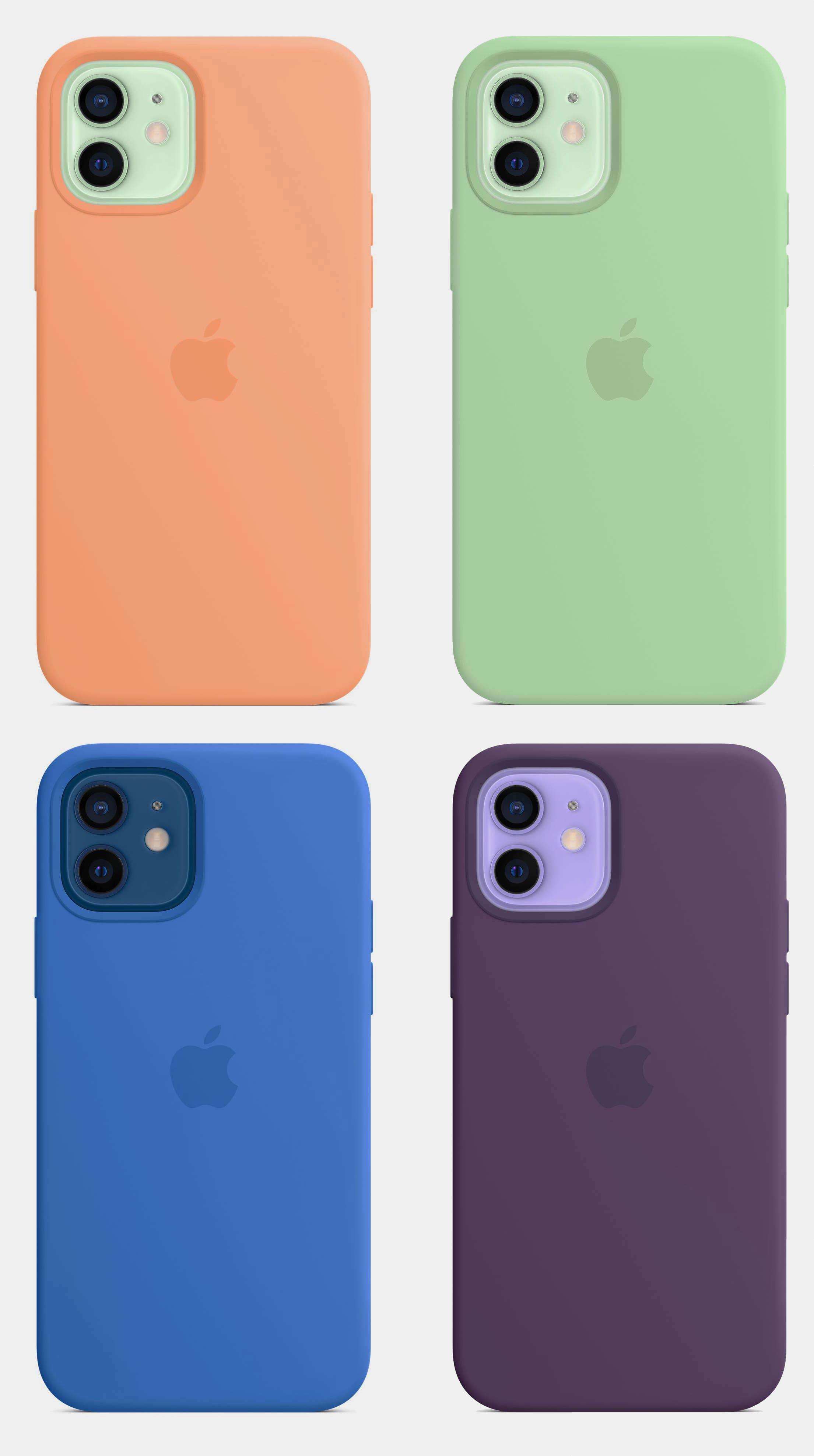 Apple представила весеннюю коллекцию чехлов для iPhone 12