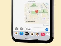 Как поделиться геопозицией iPhone в приложении iMessage