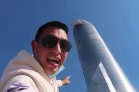 Блогер проник на базу SpaceX, чтобы посмотреть ракету Starship. Знал, что незаконно, но снимал