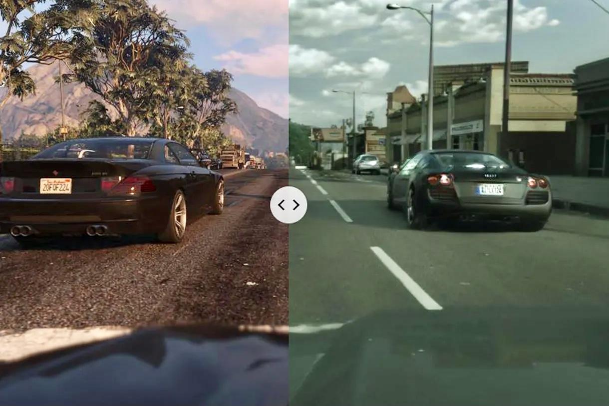 Intel показала реалистичную графику в GTA V с помощью машинного обучения