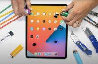 iPad Pro с M1 проверили на прочность в жестком тесте. Его впервые не удалось сломать