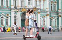 В Санкт-Петербурге снова заработают сервисы аренды электросамокатов. Но с ограничениями