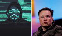 Хакеры Anonymous объявили войну Илону Маску из-за его твитов про биткоин
