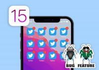 Зачем в iOS 15 можно дублировать иконки приложений. Баг или фича?